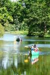 Arrivée canoe à Guémenée penfao
